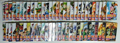 Coleção Mangás Naruto – Volumes 1 a 60