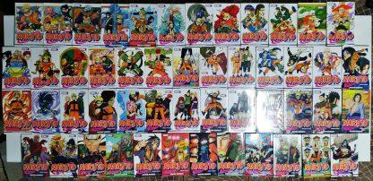 Coleção Mangás Naruto Pocket – Volumes 1 a 50