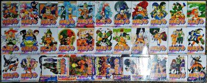 Coleção Mangás Naruto – Volumes 1 a 37