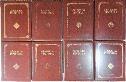 Coleção Gênios da Pintura – 8 Volumes