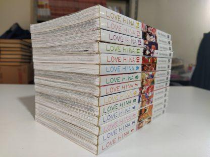 Coleção Mangás Love Hina Completa – 14 Volumes