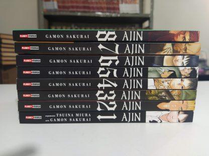 Coleção Mangás Ajin – 1 a 8