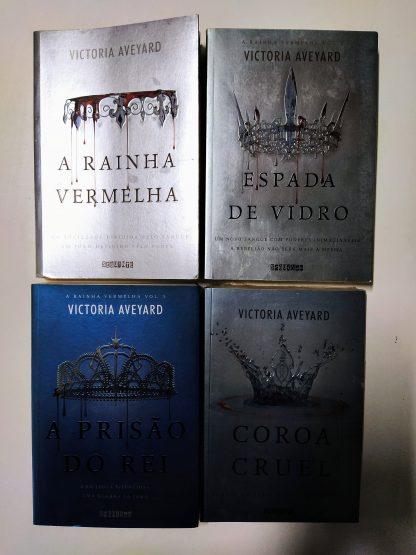Coleção a Rainha Vermelha – 4 Volumes